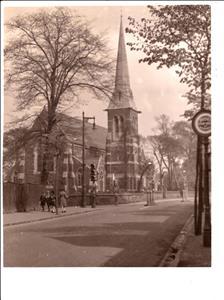 Holy Trinity Birchfield view from Heathfield Road