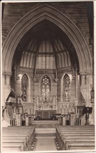 Holy Trinity Birchfield interior